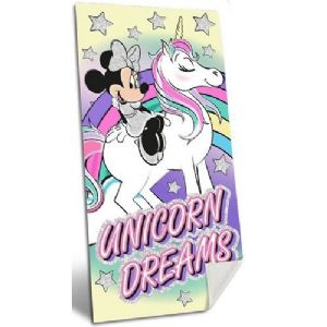 Disney Minnie Mouse Unicorn Beach Towel